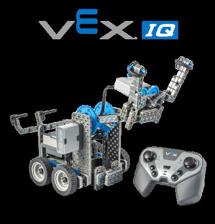 Un robot costruito con VEX IQ